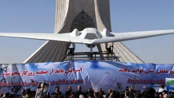 Iran presents flight of first US drone replica