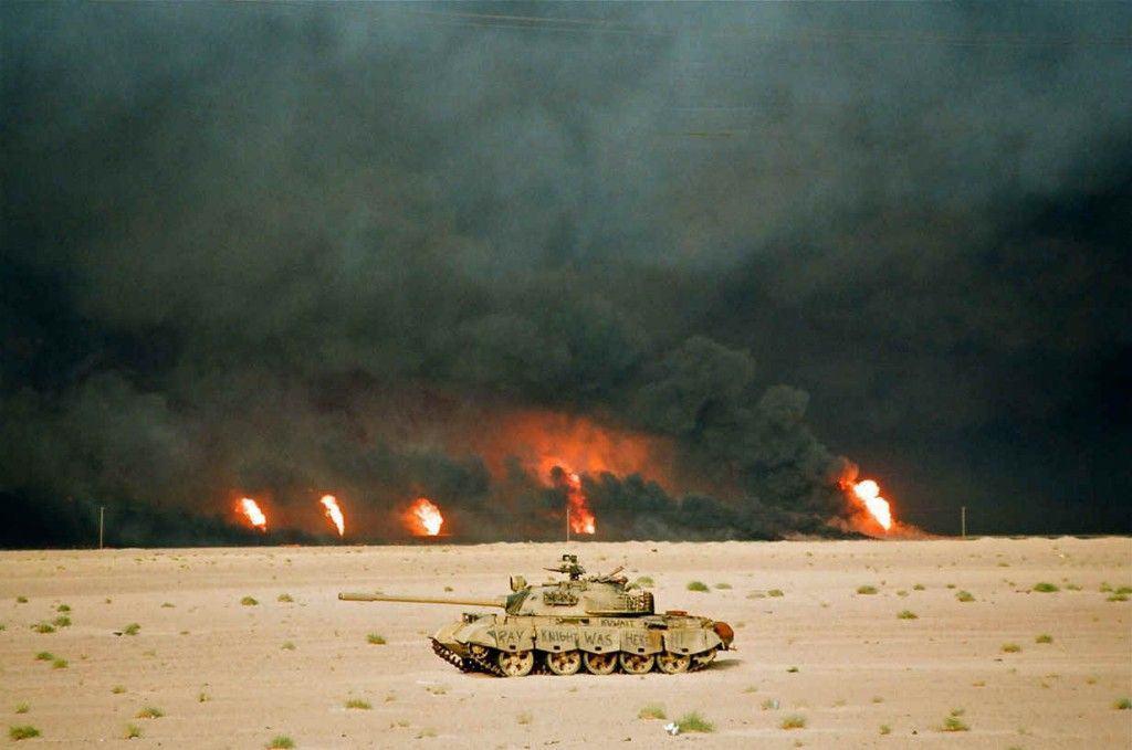 Easting 73 o cómo 9 tanques M1A1 trituraron a toda la Guardia Republicana iraquí