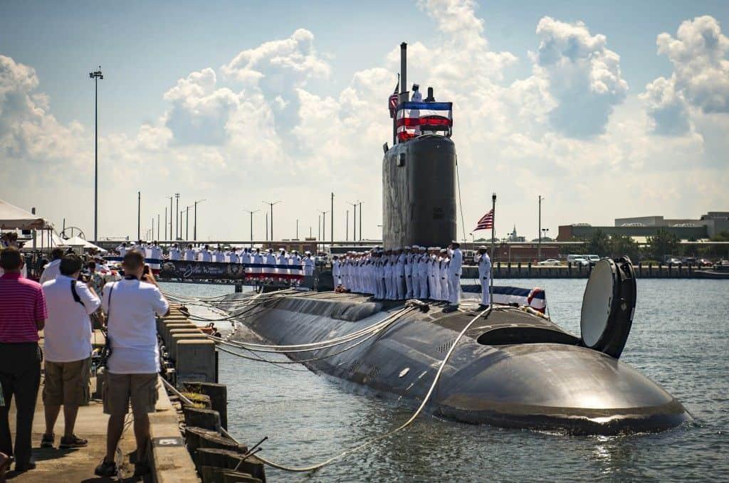 Lo más impresionante del nuevo submarino USS John Warner?: El lanzamisiles JUMBO