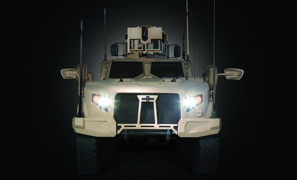 El Ejército norteamericano y Marines eligen al Oshkosh como sustituto del Humvee