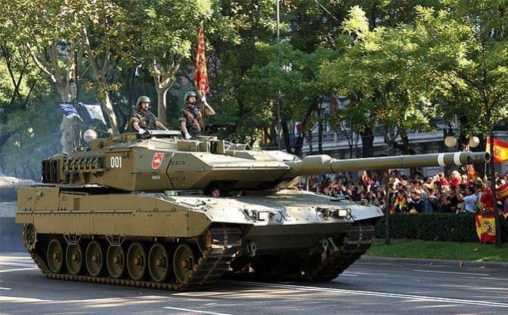 El carro Leopardo cumple 20 años en el ejército Español