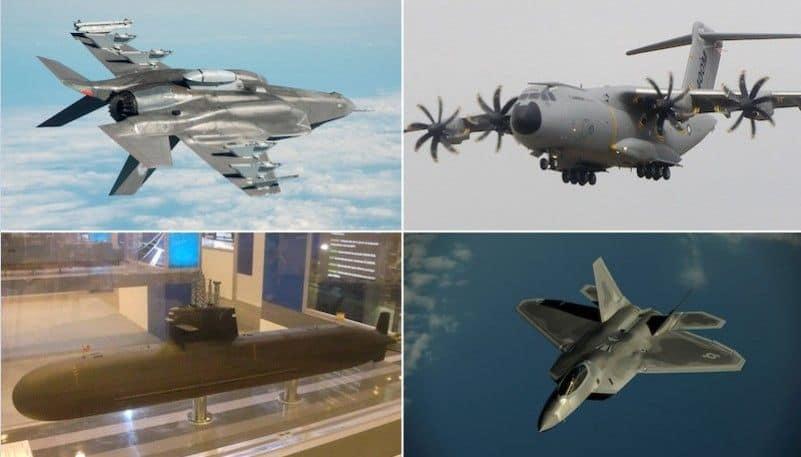 Los proyectos militares más problemáticos del momento