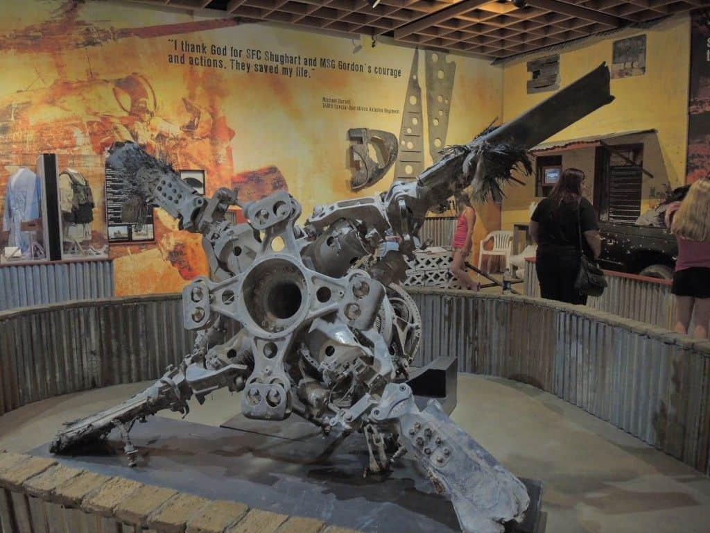 El museo de BlackHawk Derribado