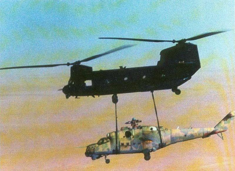 El día en que la CIA robó un helicóptero Mil Mi-24 ruso