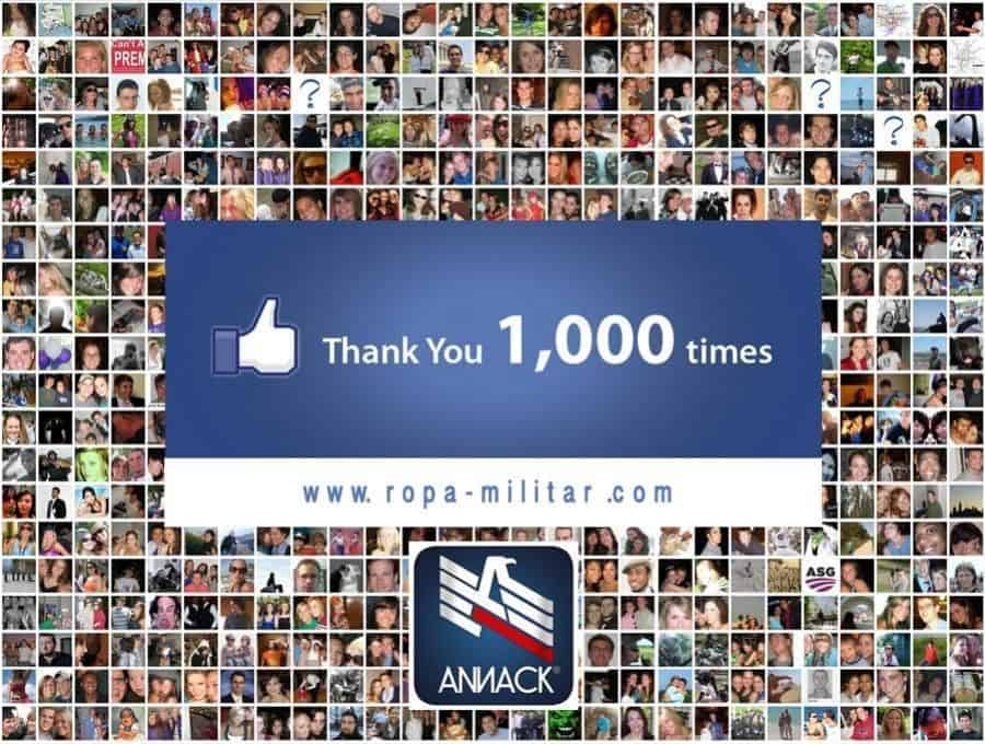 1.000 Fans en Facebook
