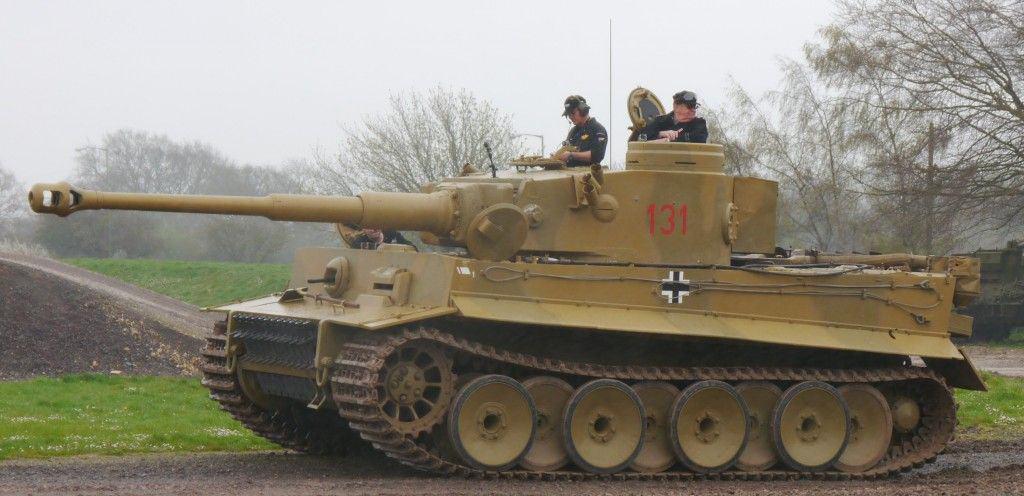 ¿Quieres oír cómo rugía el motor de un tanque alemán Tiger I ?