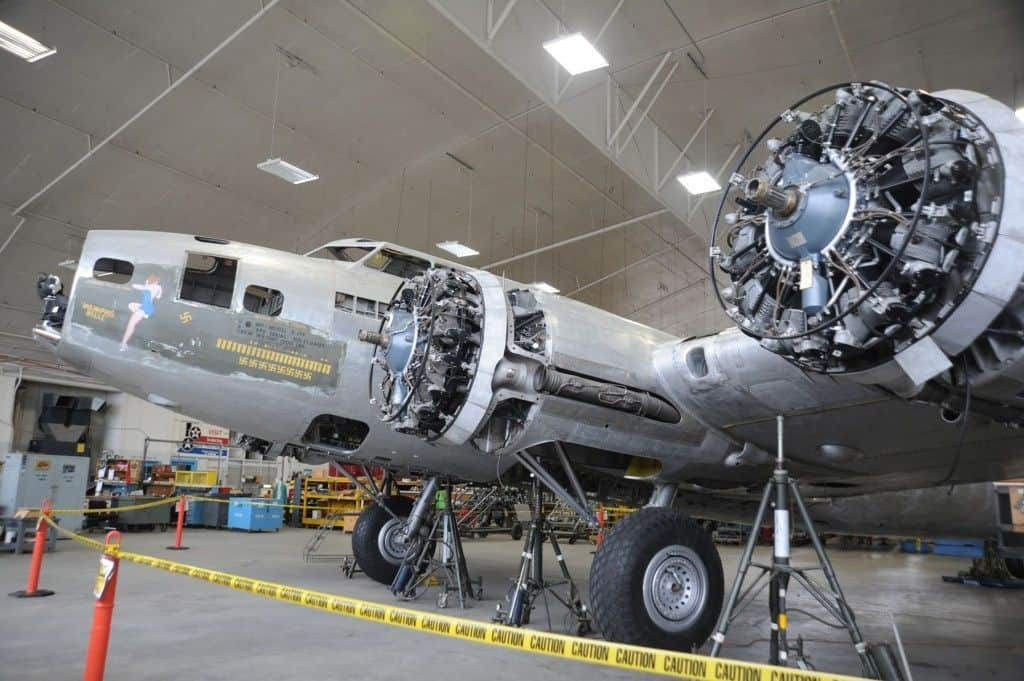 Empiezan a restaurar el B-17 Memphis Belle original