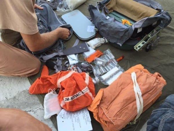 ¿Qué llevan los pilotos de caza rusos en sus kits de supervivencia para Siria?