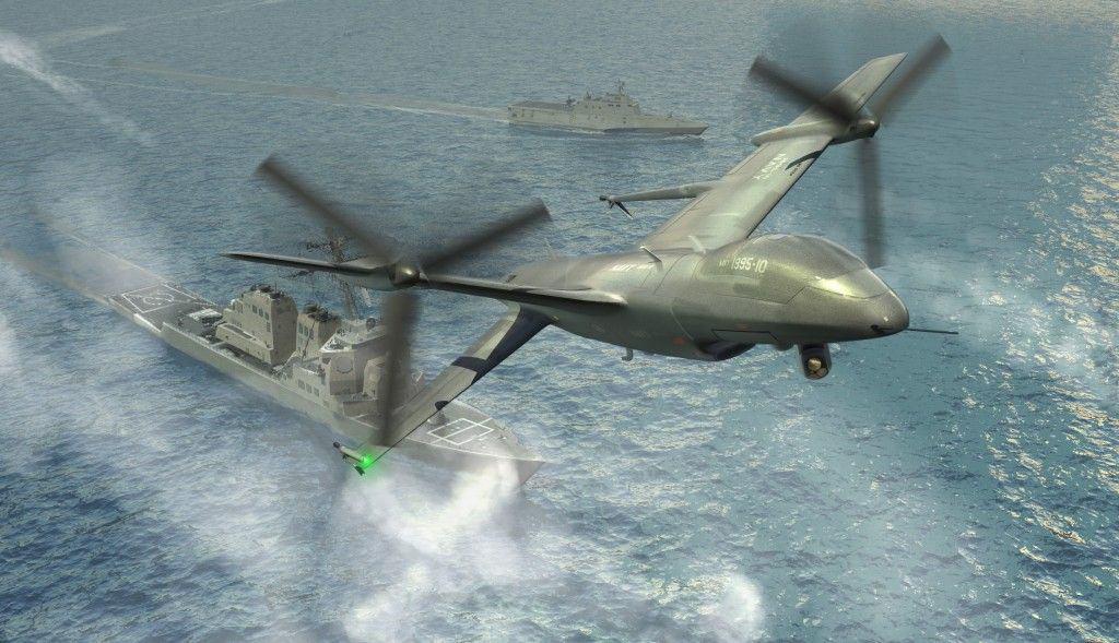 Los próximos drones serán ... de despegue vertical