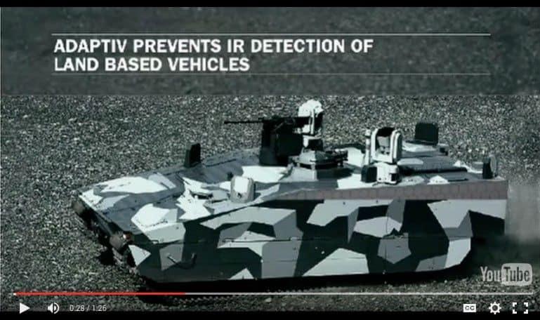 Crean un sistema para carros blindados que simula la invisibilidad