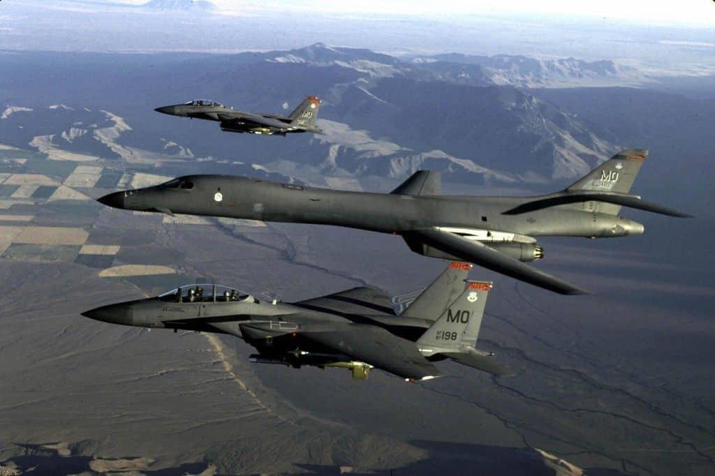 El B-1: punta de lanza contra ISIS