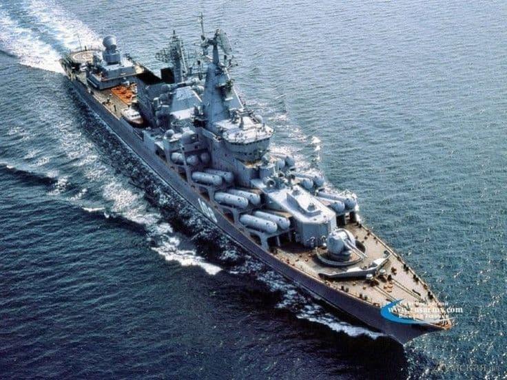 Los secretos del crucero ruso Moskvá