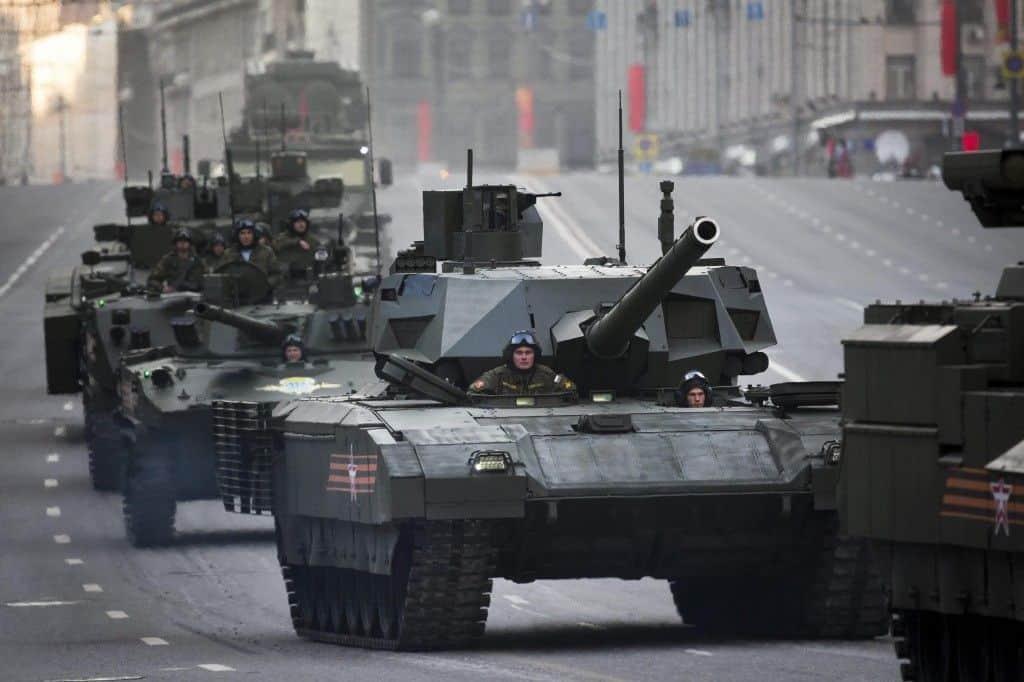 ¿Cómo funciona el tanque T-14 Armata ruso?: el carro multiusos
