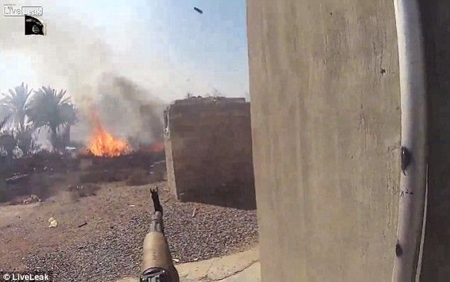 Terroristas de ISIS que graban sus propias muertes