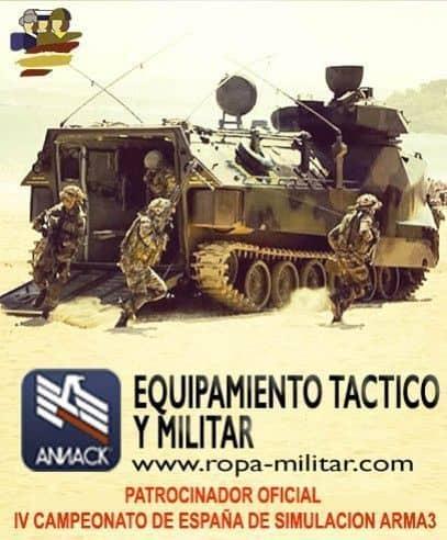 Annack patrocina el IV Campeonato de España de Simulación FFAA Mod