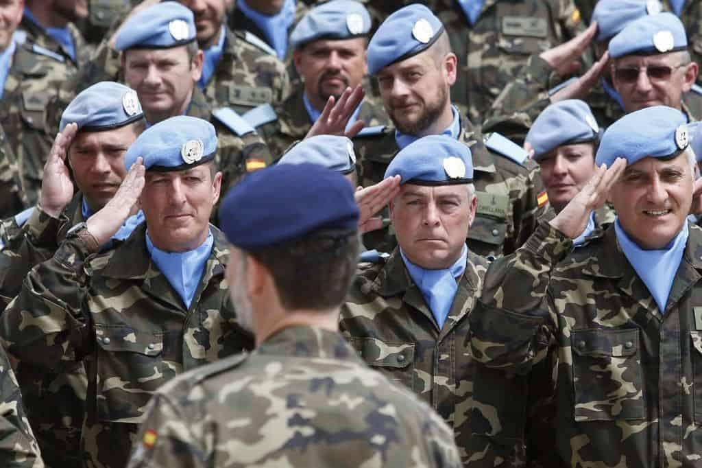 La misión del ejército español en Líbano en imágenes
