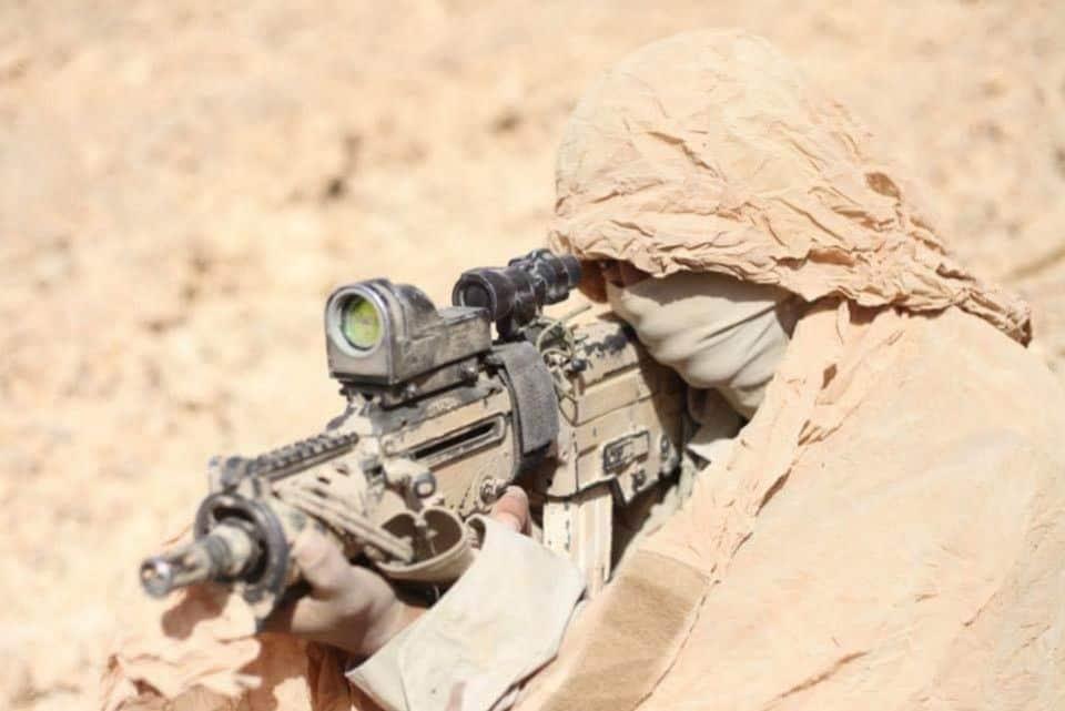El mejor camuflaje de un francotirador jamas visto