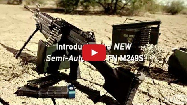 La marca FN comienza la venta del M249 SAW a la población civil