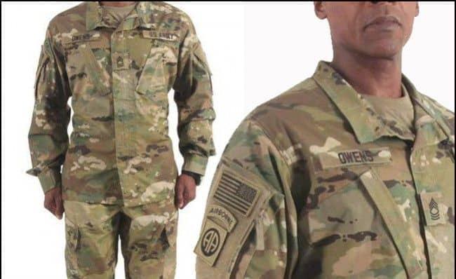 dc8ee1e8fc0 nuevo uniforme americano en camuflaje ocp