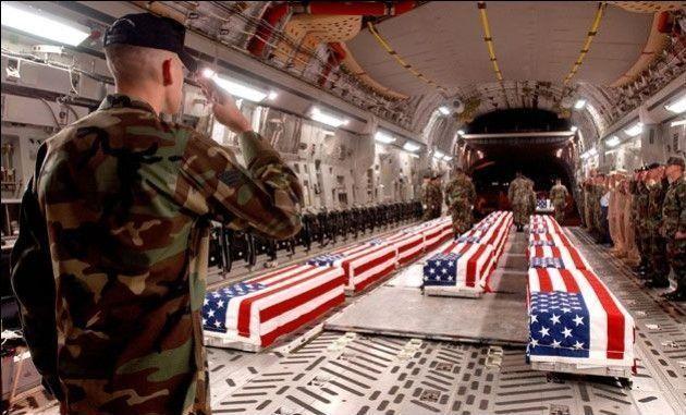 ¿Cuántos soldados americanos han muerto en combate hasta el día de hoy?