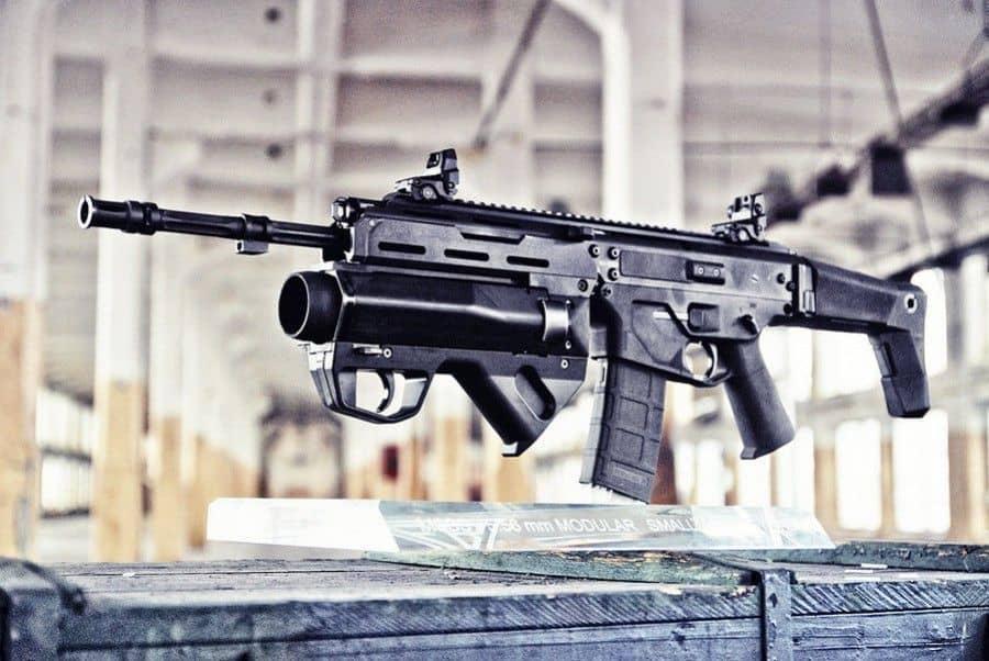 El MSBS. Una pasada de fusil de asalto