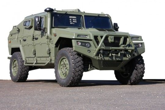 VAMTAC ST5 :: El vehículo que está reemplazando al Humvee en el Ejército Español