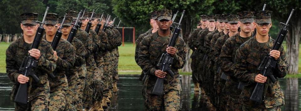 El cuerpo de Marines cumple 239 años.
