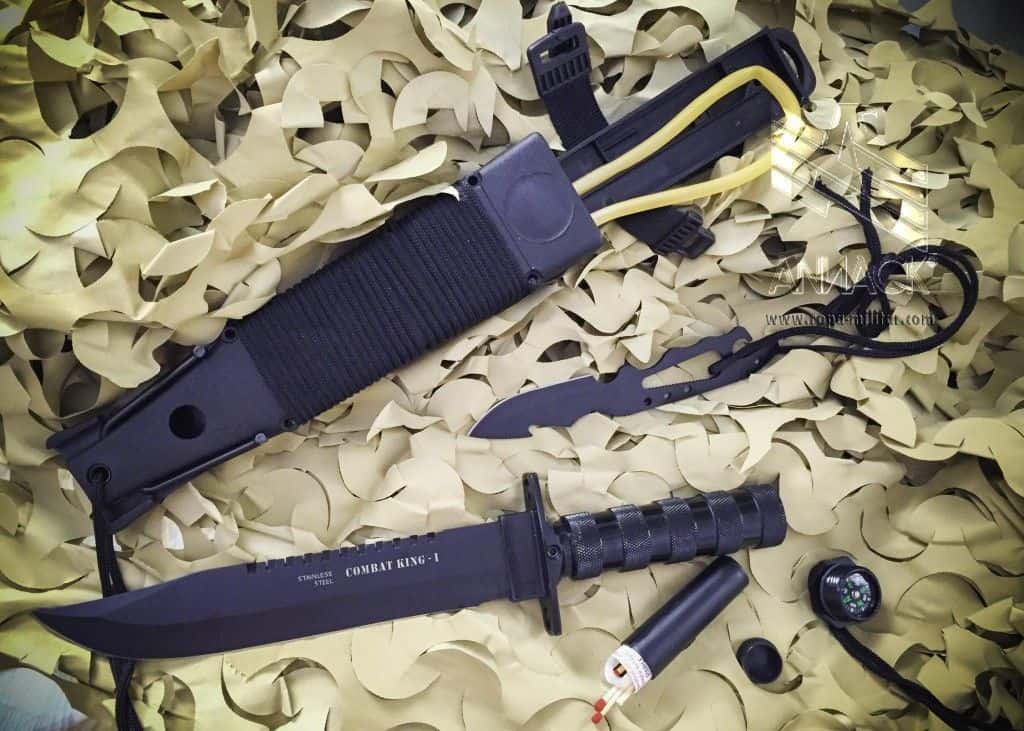 Cuchillo de supervivencia Combat King 1