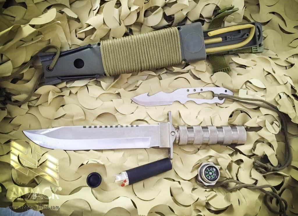 Cuchillo de supervivencia Combat King 1 - Aluminio