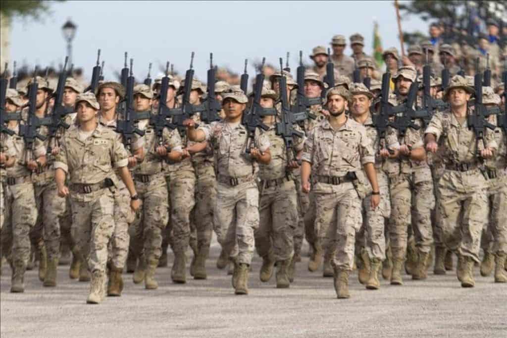 Las Fuerzas Armadas Españolas en números