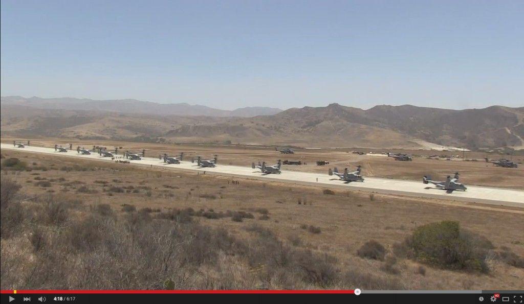 Los US Marines embarcan toda una compañía ... en 6 minutos!