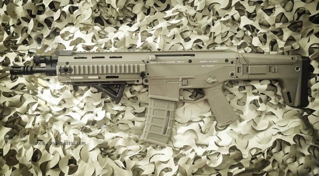 Review del fusil AEG A&K Masada - AEG - Versión Airsoft