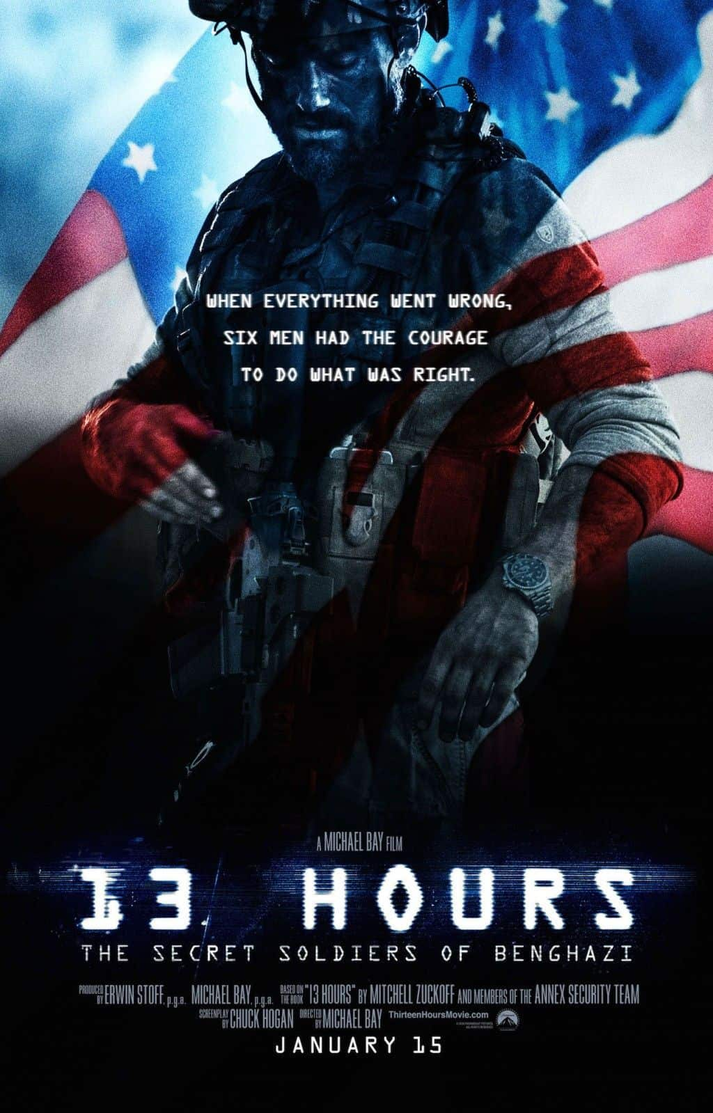 13 horas, los soldados secretos de Bengasi: Todo el armamento de la película
